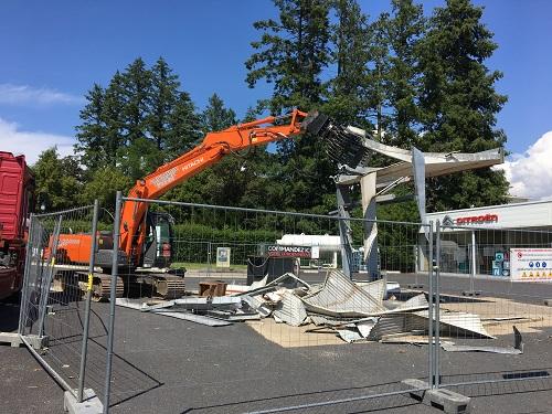 demontage station service