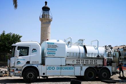 Second camion hydrocureur de la société